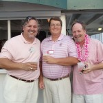 Proud in Pink! Robb Rosol, Mike Gorski and David Odle