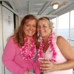 Vicki Tatum and Mindy Odle